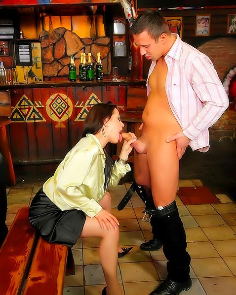 Порно фильм кафе рай