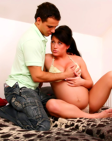 порно фото беременных брюнеток