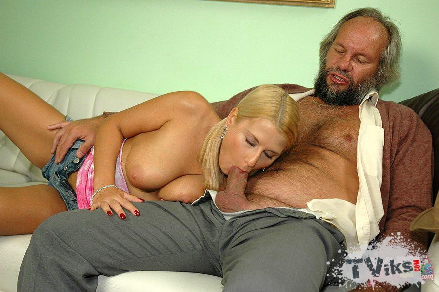 Ебет дед порно девушку видео