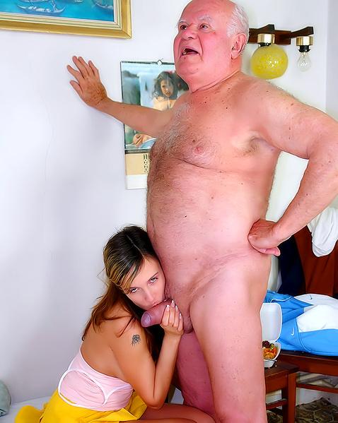 Молодой Дед Порно