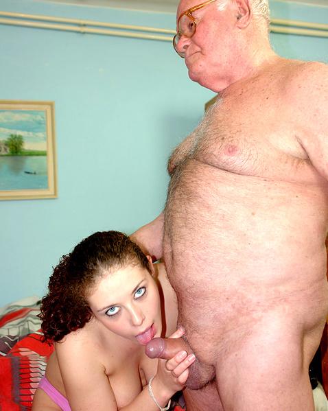 Жёсткое порно с дедушками