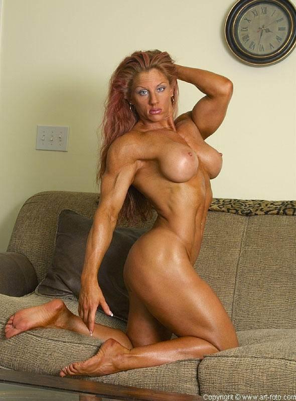 Большие сиськи мускулистые
