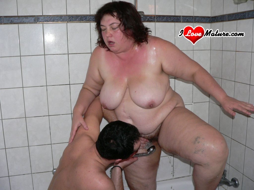 Секс Толстая Порно Бабка