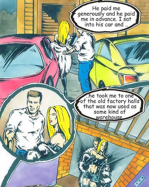 Голые жены в комиксах занимаются крутой еблей