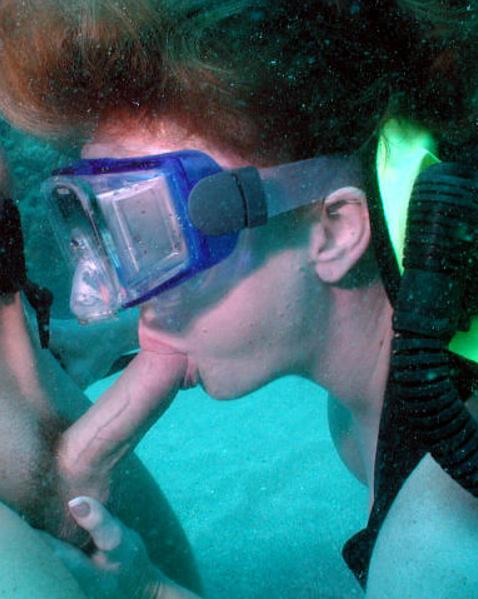 акваланге в гей порно